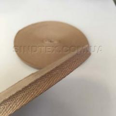 Кофейная киперная лента 1 см (киперная тесьма 10мм) (6-БК-006)