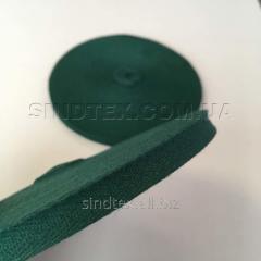 Зеленая киперная лента 2 см (киперная тесьма 20мм) (6-БК-210)