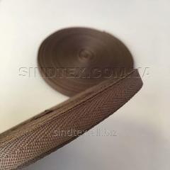 Коричневая киперная лента 2 см (киперная тесьма 20мм) (6-БК-205)