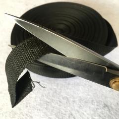 НА МЕТРАЖ Стропа сумочная-ременная (бухта 50ярд.черная) 4см (653-Т-0678)