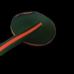 Лампасная репсовая лента (тесьма) ширина 1см. на отрез кратно 1 м. - (657-Л-0651)