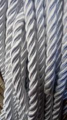 Декоративный шнур для натяжных потолков, БЕЛЫЙ 10 мм (1-2123-05)