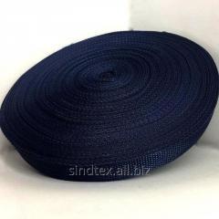 Стропа сумочная-ременная, 2,5см (бухта 50ярд.темно-синяя) (653-Т-0136)