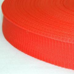 Красная тесьма сумочная-ременная, 3см (657-Л-0086)