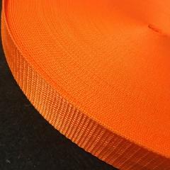 Оранжевая тесьма сумочная-ременная, 3см (657-Л-0624)