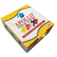 Мел мыло портновское для раскроя Apollo, (100шт/уп) белый (2-2171-Т-08)