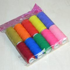 Нитка резинка 12шт., цветная (657-Л-0055)