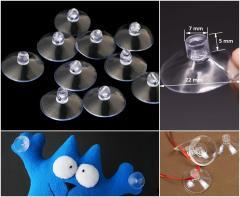 (10шт) Присоски силиконовые универсальные Ø2,2см (сп7нг-0157)