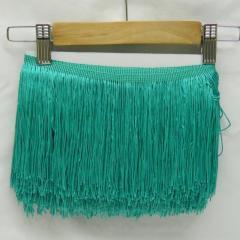 Бахрома для бальных платьев 15см х 9м -10 (бирюза) (653-Т-0429)