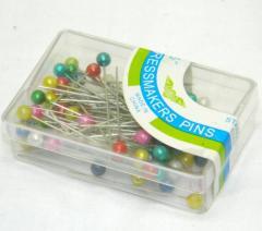 Булавки портновские (гвоздики с шариком) для шитья 38мм (657-Л-0049)