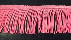 5 см бахрома 25 ярд, ярко-розовая (657-Л-0386)