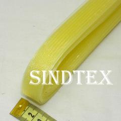 23м.Регилин (кринолин) 20мм (24-желтый прозрачный)