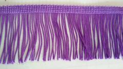 5 см бахрома 25 ярд, фиолетовая (657-Л-0384)