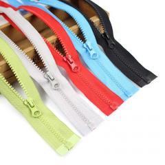 50см-ЦВЕТНАЯ (5шт. одного цвета) тракторная молния для одежды тип 5 (6-2426-В-061)