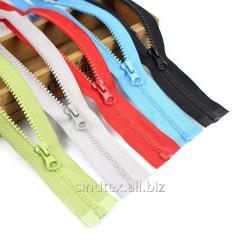 40см-ЦВЕТНАЯ (5шт. одного цвета) тракторная молния для одежды тип 5 (6-2426-В-055)