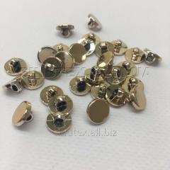 Пуговицы блузочные Ø-11мм цвет: золото (1-2008-Ю-0007)