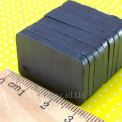 (10шт) Магнит ферритовый 30х20х3мм (прямоугольная форма) Выдерживает вес до 0,2 кг. (сп7нг-1242)