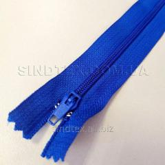 Молния брючная 18 см, синяя (6-2426-В-172)