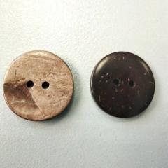Кокосовые пуговицы Ø-20мм из натуральных