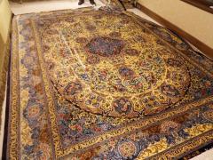 Exclusive silk Persian carpets of handwork