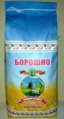 Мука пшеничная высшего сорта фасовка по 2 кг.