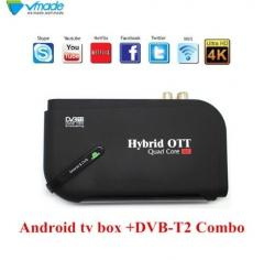 4К смарт приставка на Андроиде 7.1 + DVB Т2 + IPTV