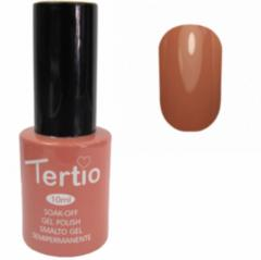 Гель-лак Tertio № 033 (коричнево-бежевый)