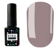 Гель-лак Kira Nails №085 (лилово-серый, эмаль)