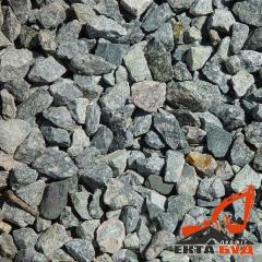 Mixes rubble-gravel-sand