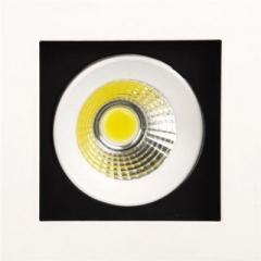 Светодиодный светильник Horoz (HL6721L) 8W 6400K белый (поворотный потолочный) Код.57379