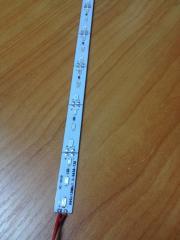 Светодиодная лента Premium SMD 5630/72 12V красный IP20 1м на алюминиевой подложке Код.57983