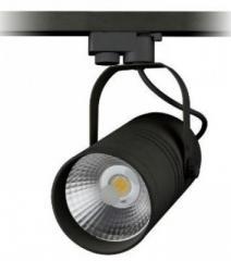 Светодиодный трековый светильник D12В 12W 6000K черный Код.58044