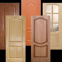 Полотно дверное  под стекло (без коробки)