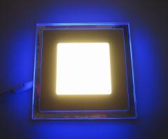 Светодиодная панель LM 501 12W 4500K квадрат син.