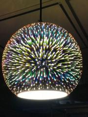 Светильник подвесной 3D QUANTUM COPPER круг Е27