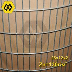 Сетка сварная оцинкованная 50х12х2,0 мм (Zn=130 г/м2) ТМ Казачка ,