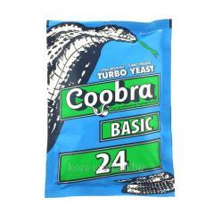 Сухие турбо дрожжи Coobra 24 Basic