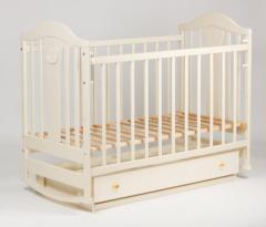Детская кроватка «НАПОЛЕОН NEW» маятник...