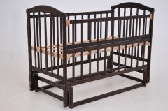 Детская кроватка «ЧАЙКА» тониров. лак с...