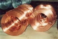 Wire copper rectangular section of the M1 brand.