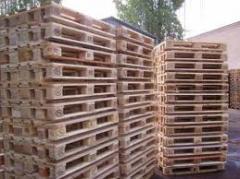 Pallets pine 800х1200 mm