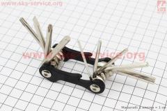 Ключ-набор 10предметов (шестигранники