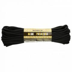 M-Tac паракорд PowerCord 1000 черный 15 метров