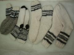 Носки шерстяные, недорогие шерстяные носки