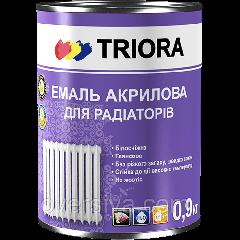 Эмаль акриловая для радиаторов белая глянцевая