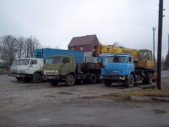 Грузовые автомобили, Камазы, ГАЗ-53, МАЗ самосвал,