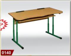 School furniture. The school desk is school, a