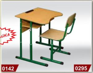 The furniture is school, the School desk school