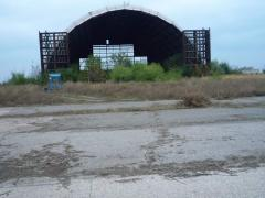 The hangar is on sale