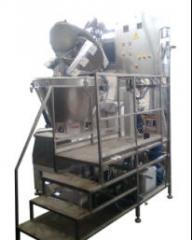 Equipment for the food industry. Unit food...